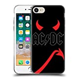 Official AC/DC ACDC Horns And Tail Iconic Soft Gel Case for Apple iPhone 7 / iPhone 8