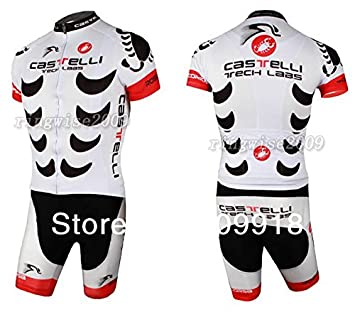 302082c1d Riderton 2012 white castelli Cycling clothing Short Sleeve and Shorts  clothes cycling short (XL)
