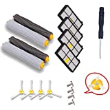 VOVO Roomba 800 series replacement kit include Tangle-Free Debris Extractor Set & Side Brushes & Hepa Filters for irobot Roomba 870 880 980
