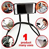 Hanging On Neck Cell Mount Phone Holder , Lazy Neck Phone Holder , Universal Lazy Mobile Phone Stand , Lazy Bracket Including DIY Free Rotating Mounts With Multiple Function