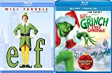 A Christmas Elf Double Feature How the Grinch Stole Christmas Dr. Seuss Will Ferrell Movie Holiday 2-Pack