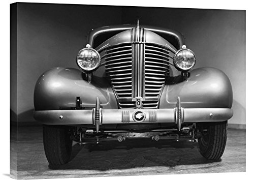 Grille 1938 - Global Gallery Budget Philip Gendreau Front Grille of A 1938 Pontiac Gallery Wrap Giclee on Canvas Print Wall Art, 18