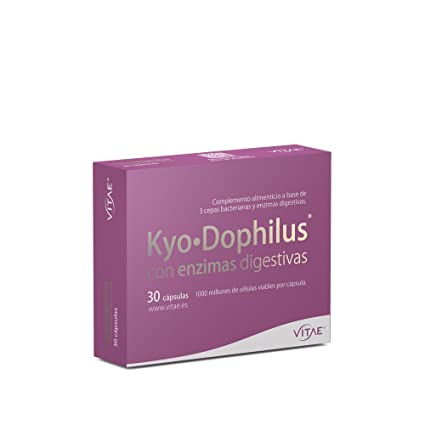 Vitae Kyo Dophilus Enzimas Complemento Alimenticio - 30 Cápsulas
