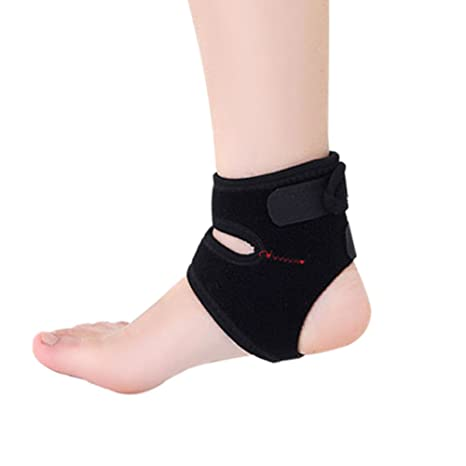 Mers Syria Pied Cheville Bandage de cheville Protection Chevillière  Chevillère avec fermeture Velcro le football sport 93c9da35ebe