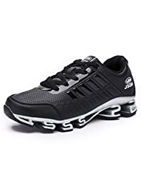 Running Shoes Men Breathable Lace-up Fashion Antiskid Walking Sneakers Athletic Sports Shoe