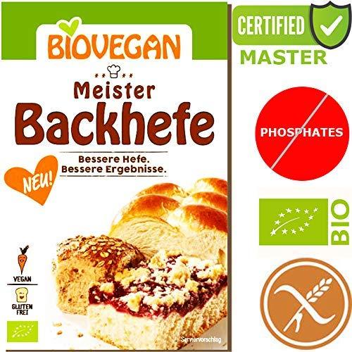 Levadura orgánica extra fuerte Levadura Master Yeast 7g ...