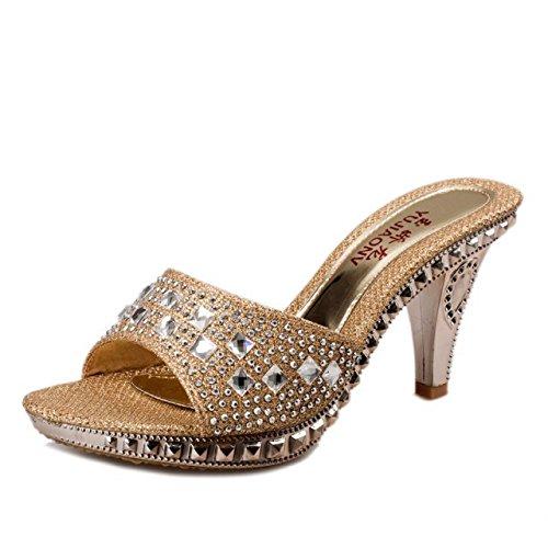 sandali alti Impermeabilizzazione sandali raffreddare le Thirty e di six tacchi Donyyyy pantofole wdtfEXqX