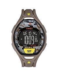 Timex Ironman Sleek 50 Full-Size Watch - Grey/Yellow Camo