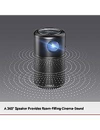 Anker Nebula Capsule Smart Portable Wi-Fi Mini proyector de cine de bolsillo), D4111111