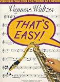 Viennese Waltzes for Tenor Sax, Music Sales Corp, 0711942412