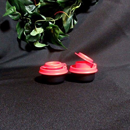 Tupperware Salt & Pepper Smidgets Shakers in Various Colors (Hourglass Salt And Pepper Shakers)