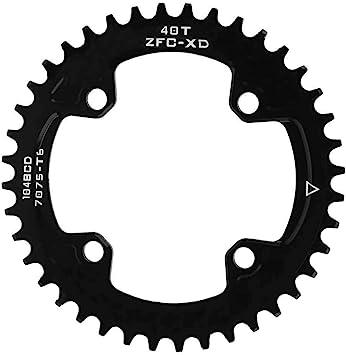 VGEBY1 Plato de Bicicleta, 104MM 40T 42T Anillos de Cadena de Bicicleta angosta y Ancha Compatible con Shimano Juego de bielas Ciclismo Plato Rueda Accesorio(42T(104BCD)): Amazon.es: Deportes y aire libre