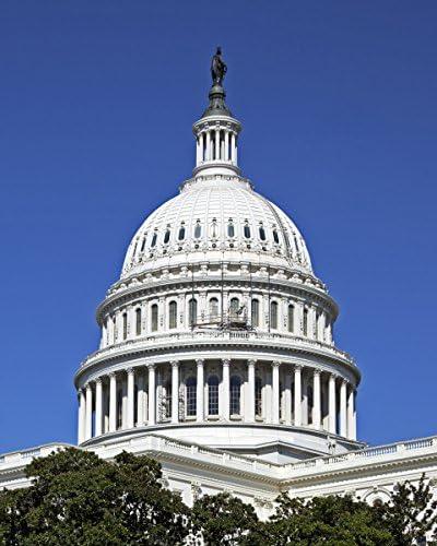 """Washington Bldg. 8/"""" x 10/"""" 1924 photo Capitol /& House Ofc"""