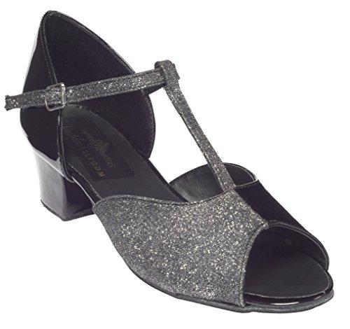 Damen schwarz 37 Pointers Tappers schwarz Größe OLIVIA amp; Tanzschuhe Schwarz Schwarz wqFfT