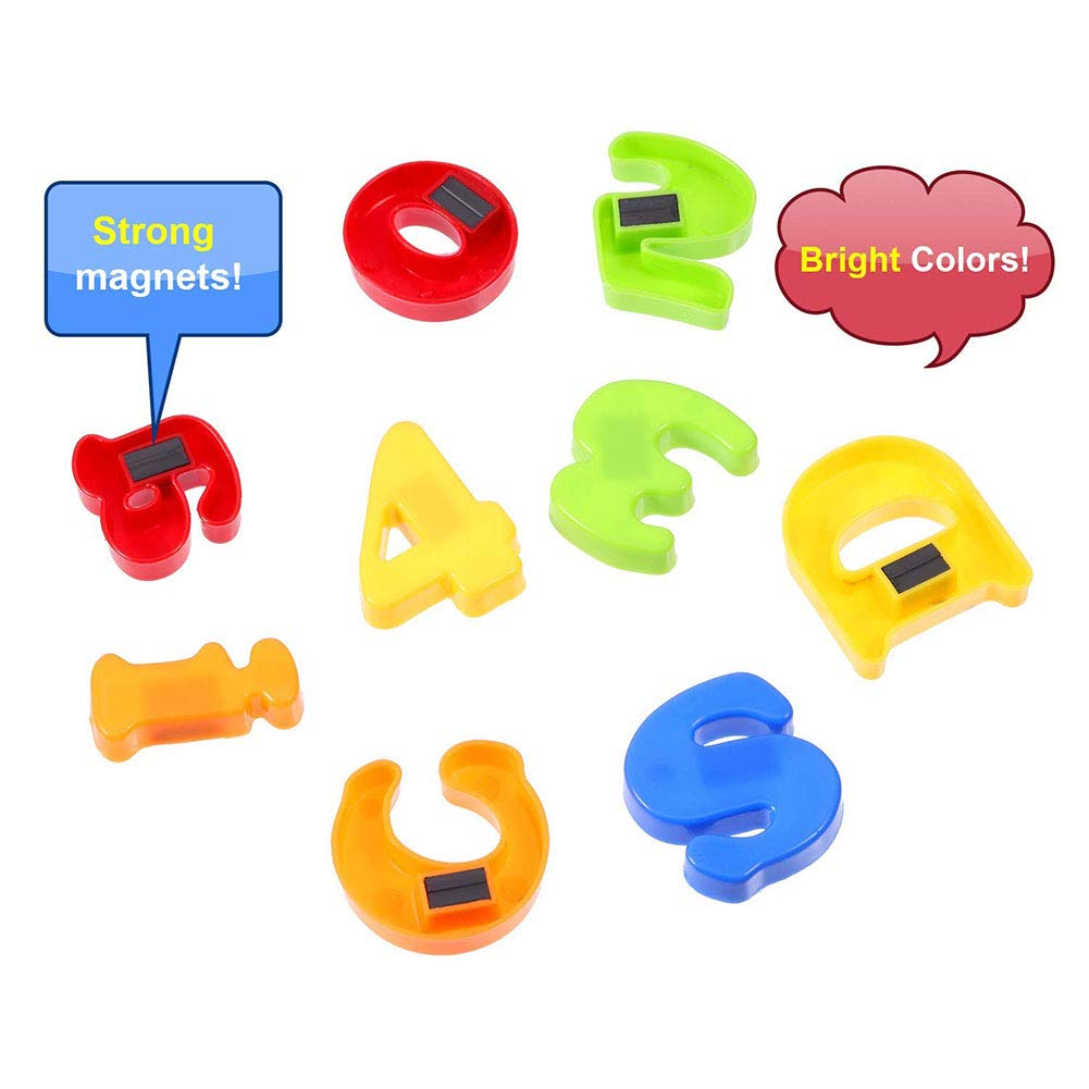 Studyset 78pcs//Set Magnetic Letters Numbers for Kids Educational Alphabet Refrigerator Magnets