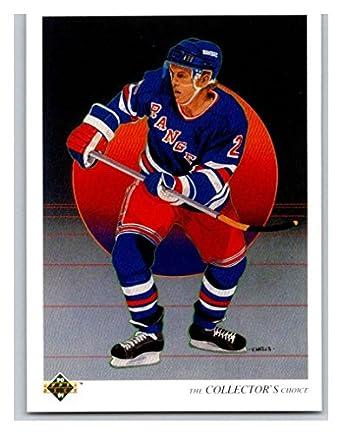 Amazon.com  1990-91 Upper Deck  315 Brian Leetch TC Mint Hockey NHL ... 5002aefef