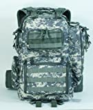 Voodoo Tactical Improved Matrix Pack Backpack MOLLE – Hydration Compatible – 15-9032 Army Digital Camo For Sale
