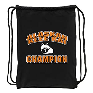 "Eddany Alaskan Klee Kai champion Sport Bag 18"" x 13"" 2"