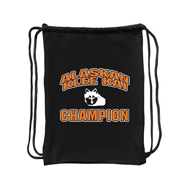 "Eddany Alaskan Klee Kai champion Sport Bag 18"" x 13"" 1"