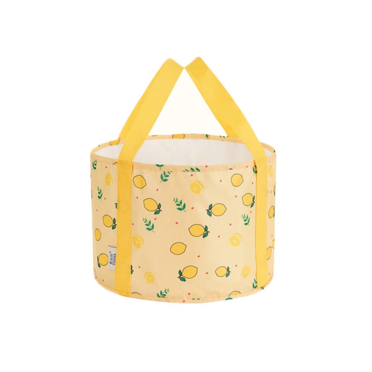 Muziwenju Portable Premium Collapsible Bucket Folding Bucket Wash Basin for Traveling Hiking Fishing Boating Gardening (12L, 18L, 20L) (Capacity : 20L, Color : B)