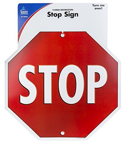 Stop Sign Two-Sided Decoration - Stop Signs