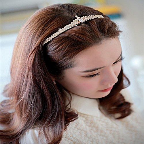 Generic High-end crown tiara Princess crown tiara headband hair bands hair accessories popular diamond tiara hairpin (CEN)