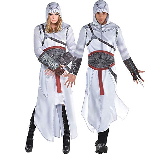 Party City Altair Robe Halloween Costume Kit for Adults, Assassin's Creed, Medium/Large, Includes Rode and ()