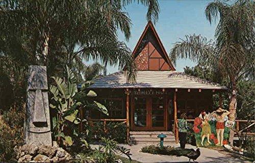 (Little Kahnon, God of the Birds and the Tahiti Hut Indian Rocks Beach, Florida Original Vintage Postcard)