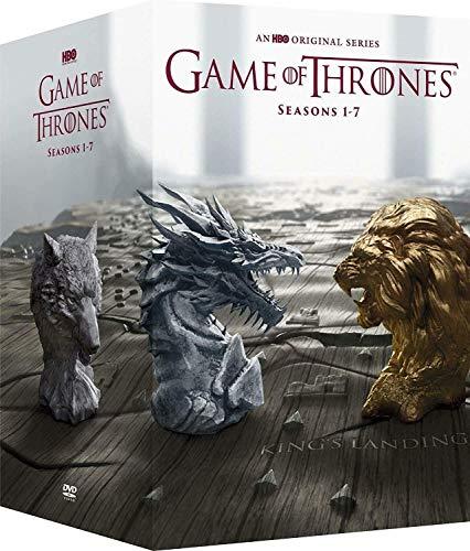 Game of Thrones: Complete Series Seasons 1-7 DVD Box Set by Medi Hub (Image #1)