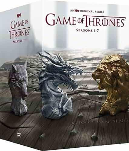 Game of Thrones: Complete Series Seasons 1-7 DVD Box Set