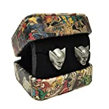 Marvel Comics Retro (Wolverine) 3-D Cufflinks (with Gift Box)