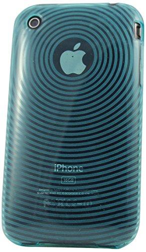 Katinkas KATIP31078 Soft Cover für Apple iPhone 3G/3GS Circle blau