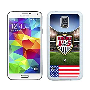 Newest Samsung Galaxy S5 I9600 Case ,USA Soccer 11 White Samsung Galaxy S5 I9600 Screen Case Unique And Durable Custom Designed Cover Case