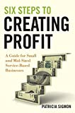 Six Steps to Creating Profit: A Guide for Small and Mid-Sized Service-Based Businesses by Patricia Sigmon (2010-04-26)