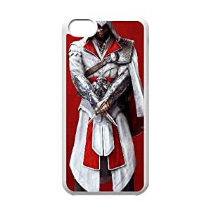 iPhone 5c Cell Phone Case White Assassins Creed Custom DSANJIKBH5945