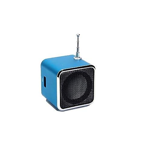 Amazon.com: Altavoz portátil TD V26 FM Radio Música Estéreo ...