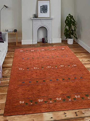 Rugsotic Carpets Hand Knotted Gabbeh Silk 6'x9' Area for sale  Delivered anywhere in Canada
