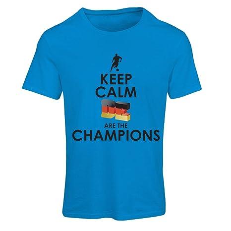 Frauen T-Shirt Deutsche sind die Champions - Russland-Meisterschaft 2018, WM-Fußball, Team von Deutschland Fan-Shirt