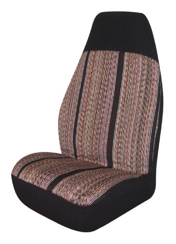 (Allison 67-6886BLK Black Rough 'N Ready Universal Bucket Seat Cover - Pack of 2)
