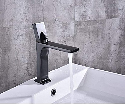 Retro Deluxe Faucetingingbasin Faucet Sink Faucet Bathroom Slim Hot and Cold Basin Water Mixer Tap Bathroom Single Sink Faucet