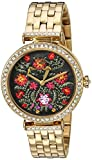 Juicy Couture Women's 1901516 J Couture Analog Display Quartz Gold Watch