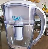 Jarra con filtro de agua H2O International con HALO Pure Filtro y LED Monitor PROMOCIÓN!