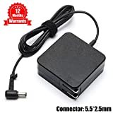 19V 3.42A 65W AC Adapter Charger for ASUS X45A X540S X550 X550ZA X551M X550L X551 F555L ADP-65AW A EXA0703YH EXA1208UH AD887320 ADP-65BW B ADP-65DW Power Supply