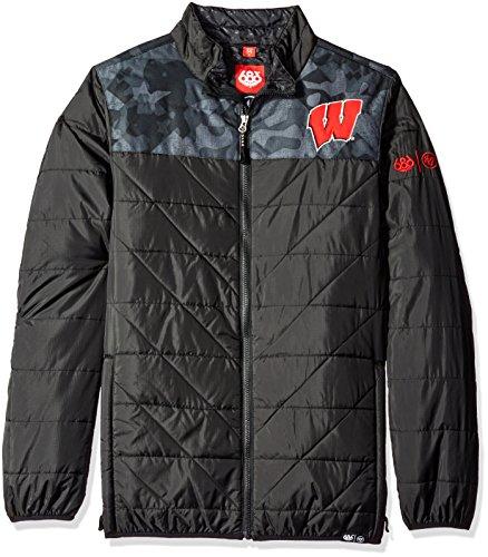 686x47 NCAA Wisconsin Badgers Men's Flight Insulated Jacket,