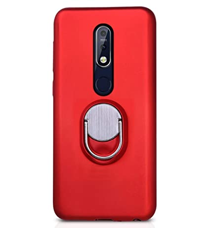 Amazon.com: Nokia 4.2 Funda, Anillo Giratorio [360°Kickstand ...