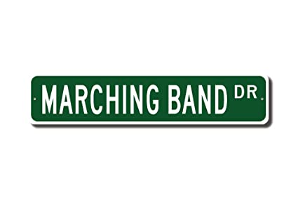 Amazon com: rfy9u7 Marching Band, Marching Band Sign, Marching Band