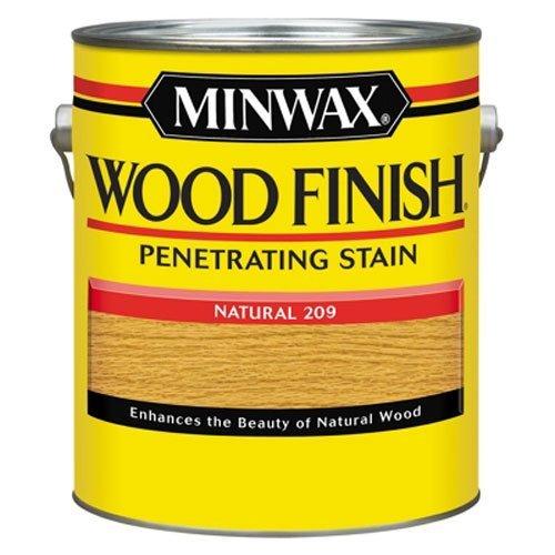 Natural Maple Finish Wood - Minwax 71000000 Wood Finish Penetrating Stain,