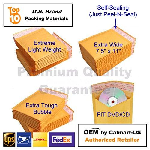 0 6 X10 6x10 Kraft Bubble Mailer Cushion Self Seal Padded Mailing