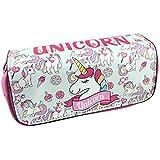 Pink Unicorn digital printing student stationery bag Unicorn Pencil case
