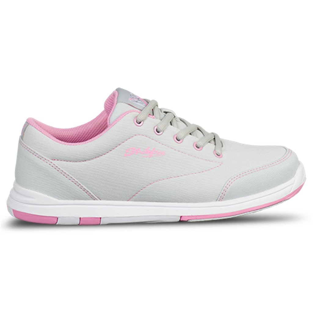 KR Strikeforce Women's Chill Bowling Shoes, Gray/Pink, Size 8.5
